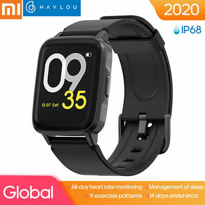 Xiaomi Haylou LS01 Smart Watch LS01 Heart Rate Fitness Tracker IP68 Waterproof