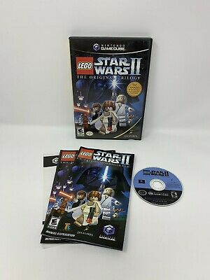 Lego Star Wars II: The Original Trilogy Nintendo Gamecube GC - Complete in box