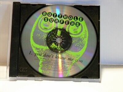 The Butthole Surfers - You Dont Know Me -  Promo Only CD Single (DPRO-79787)