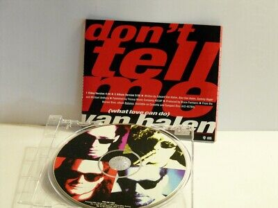 Van Halen - Dont Tell Me (what Love Can Do) -  Promo Only CD Single (PRO-CD-7368