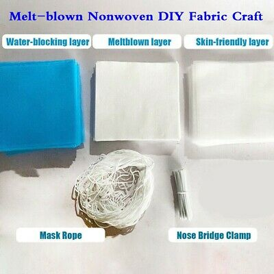 5m/20m Waterproof Non-Woven Fabric Craft Breathable Dust Roof Making Kit Set