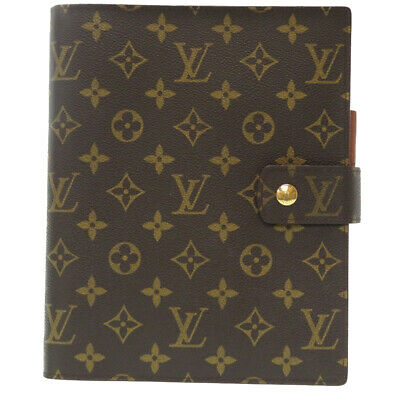 Good rank LOUIS VUITTON Monogram Agenda GM Day Planner cover R20106 U0889ZGA5