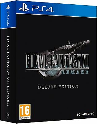 Final Fantasy 7 Vii Remake Deluxe Limited Edition - Ps4 Pal Ita  Preorder