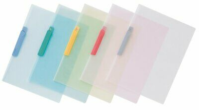 Pentel Recycology Clip File - Assorted Coloured Tabs - Pack of 10