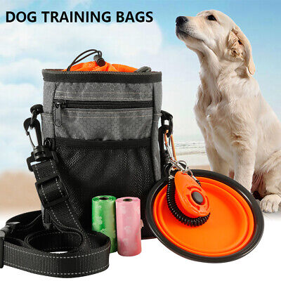 Pet Dog Training Treat Snack Bait Obedience Agility Outdoor Cat Pouch Food Bags