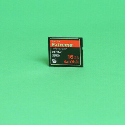 SanDisk Extreme 16GB 60MB/s Compact Flash Card
