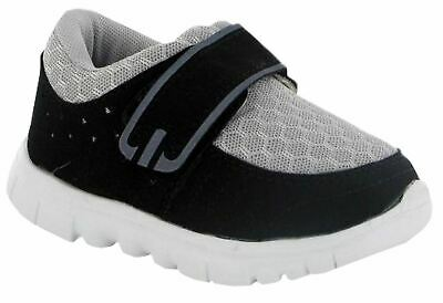 Infant Baby Boys Girls Touch Fastening Lightweight Mesh Trainers Shoes Size 2-7