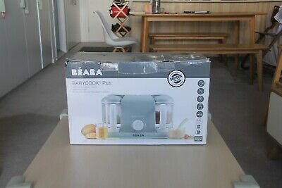 BEABA Babycook Plus 4 in 1 Steam Cooker and Blender, 9.4 Cups, Dishwasher Safe,