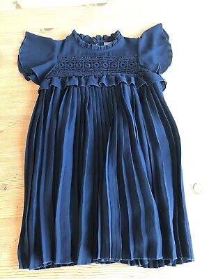 Girls Next Navy Party Wedding Flower Girl Dress Age 5