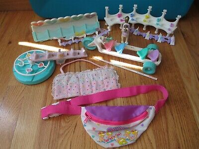 Random Parts & Pieces of Playsets for Quints Baby Dolls by Tyco, 1990