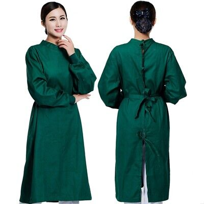 New Surgical Gown Reusable Medical Isolation Gown Doctor Surgeon Workwear S-2XL