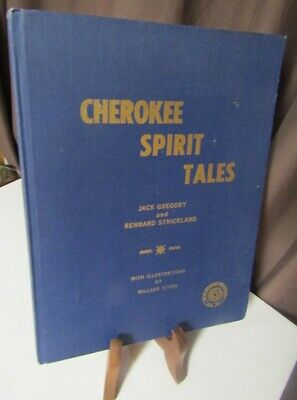 Cherokee Spirit Tales Collectors Autographed Numbered Limited Ed Book 969/1000
