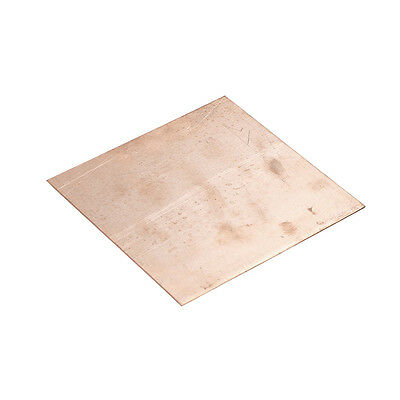 1pc 99.9% 100mm*100mm*1mm Pure Copper Cu Sheet Plate Thin Metal Foil Sh C I2FGT