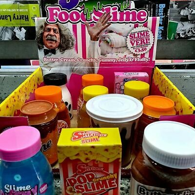 12 Skifidol FOOD SLIME collezione scatola completa SMOOTH HYBRID SHAKE SQUEEZY🔘