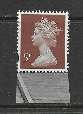U3072 5p RED BROWN MPIL M13L Ex DY9 ENSCHEDE MNH