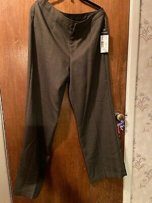 NWT New Women's Requirements Brown Dress Pants Size 12