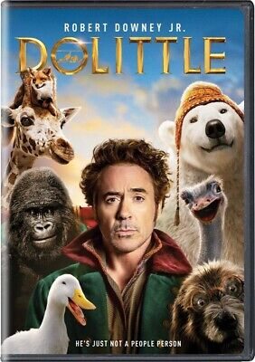 Dolittle DVD 2020 BRAND NEW FAST SHIPPING