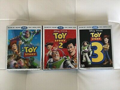 Toy Story Trilogy Blu Ray 3D (includes 2D Blu Ray)