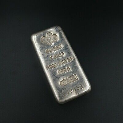 PAMP 1KG Silver Bullion Bar with free post, tracked and insured.