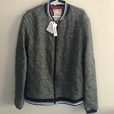 NEW With Tags Lacoste Kids Size 10 Reversible Jacket