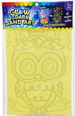 Glow-in-the-Dark Sand Art Kit, Medium Cards