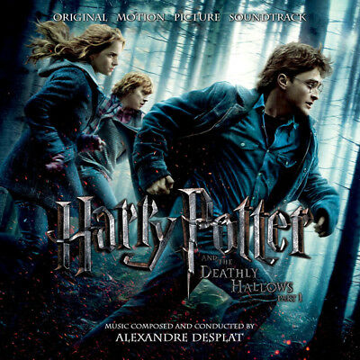 Harry Potter and the Deathly Hallows Part 1 - A. Desplat - Soundtrack Score CD