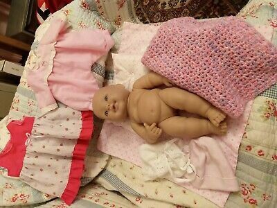 Berenguer BABY DOLL Clothes Blankets Pillow MIXED LOT