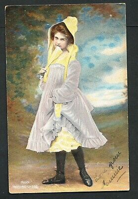 Used Glamour Postcard – Miss Pauline Chase (884)