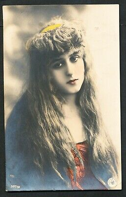 Used Glamour Postcard – Young Lady (883)