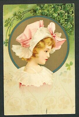 Used Glamour Postcard – Young Lady (882)