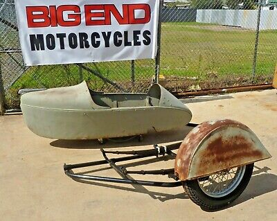 1946 Indian Motorcycle Sidecar. Restored Frame. Original Parts. Project.