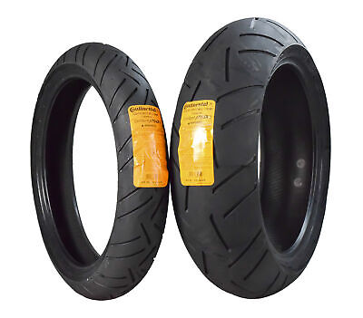 Continental ContiRoad Attack 2 Hypersport Touring Radial Rear Motorcycle Tire for Yamaha YZF1000R 1997 73W 180//55ZR-17