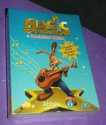 The Magic Roundabout Rock Star Dylan / Treasure Beyond Measure Double Bumper DVD