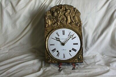 french Comtoise Morbier Clock Movement  repeater................................