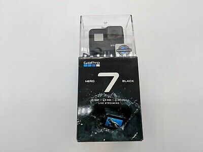 New GoPro HERO7 Black 12MP 4K Waterproof Action Camera -DS2926