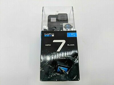 New GoPro HERO7 Black 12MP 4K Waterproof Action Camera -DS2927