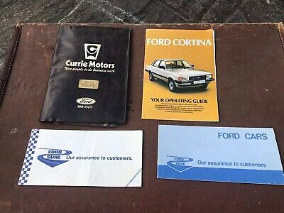 1979 Ford Cortina Owners Booklets