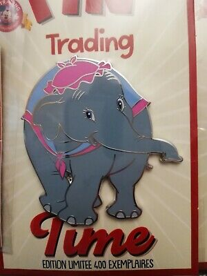 Pins Disneyland Paris Pin Trading Time Madame Jumbo Dumbo El 400 Exemplaires