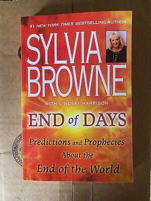 Sylvia Browne End Of Days - Predictions and Prophecies PAPERBACK NEW Ships Fast
