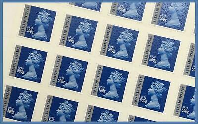 Brand NEW Royal Mail SD Special Delivery 500g Full Sheet of 25 Stamps Cat £375