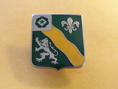 US Army 63rd Armored Regiment Armor Tank crest DUI badge NS Meyers