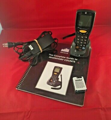 Motorola Symbol MC1000 Wireless Barcode Scanner With Charger and Extra Battery