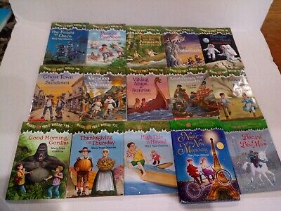 Lot of 15 Magic Tree House Books by Mary Pope Osbourne