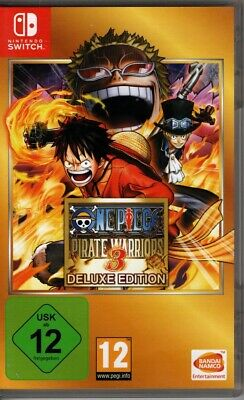 One Piece Pirate Warriors 3 - Deluxe Edition / Nintendo Switch