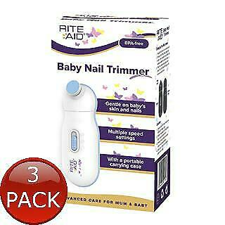 3 x RITE AID BABY NAIL TRIMMER