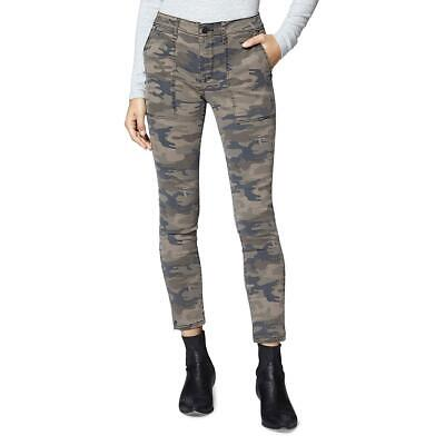 Sanctuary Womens Green Camouflage Ankle-Zipper Casual Chino Pants 32 BHFO 1728