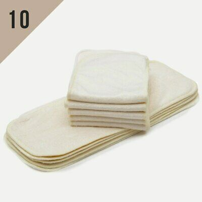 SECONDS LOT SALE! One Size Bamboo or Microfiber Inserts Value Pack 10/20/30