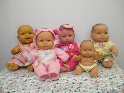 Cute Lot of All Vinyl & Vinyl & Cloth Baby Dolls by Berenguer, Reborn, Play