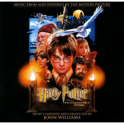 Harry Potter and the Philosopher's Stone - John Williams - Soundtrack Score CD