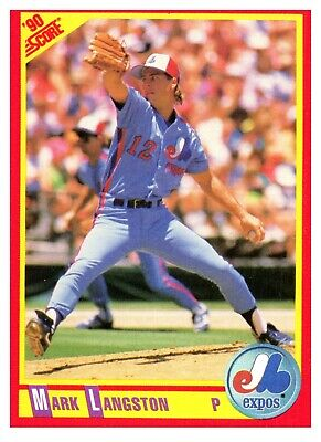 1990 Score Baseball Cards - You Pick Your Own - Complete Your Set (401-600)